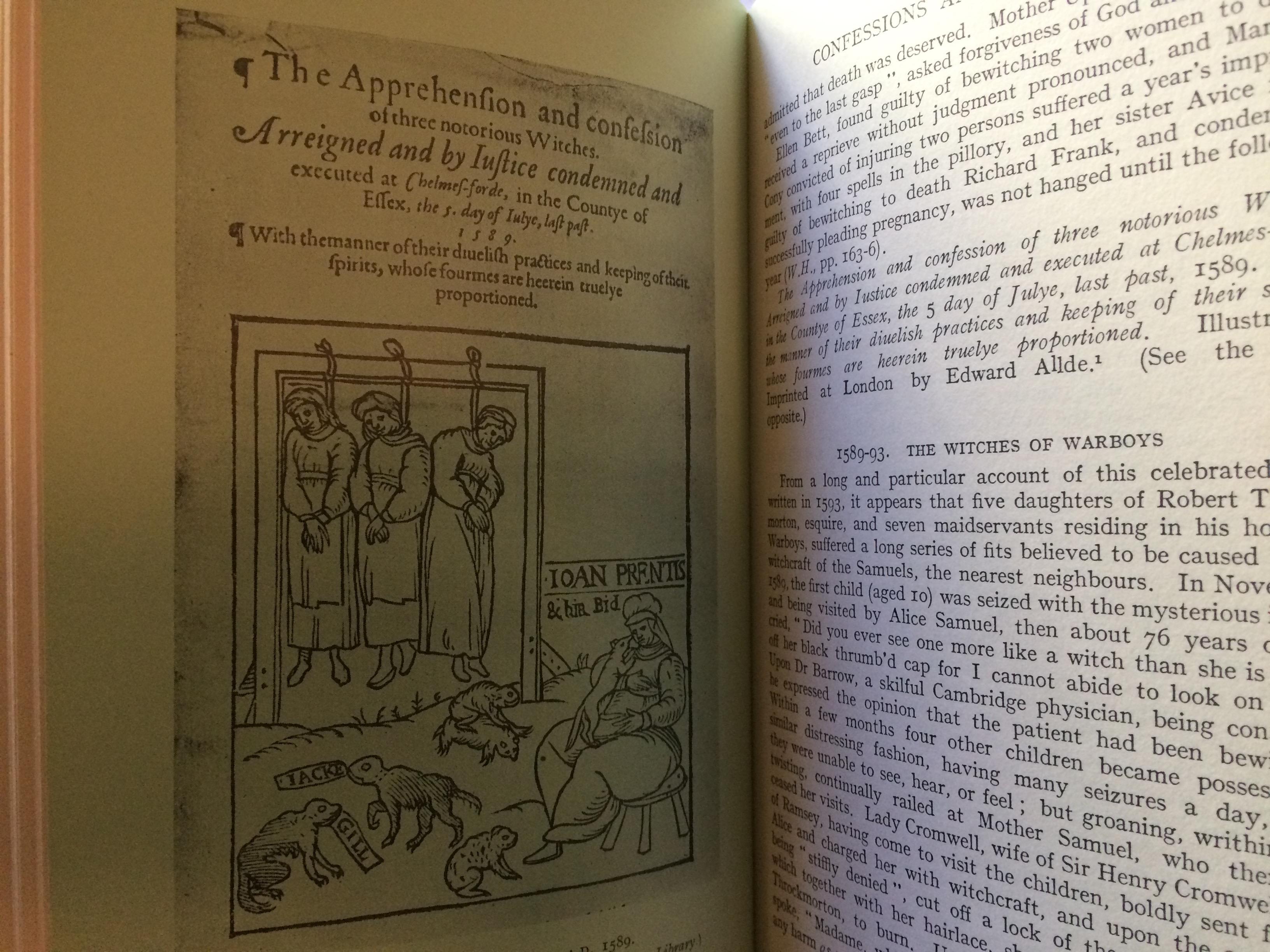 Witchcraft and Demonianism by C  L'Estrange Ewen
